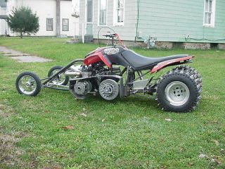 TRC Custom Drag Race ATV Quad 4 Wheeler   LAST CHANCE