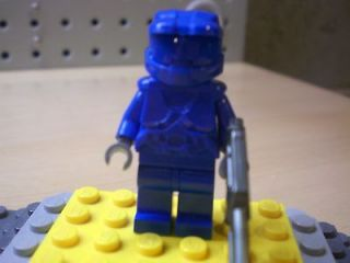 CUSTOM LEGO ****HALO 4**** MASTER CHIEF WITH WEAPON