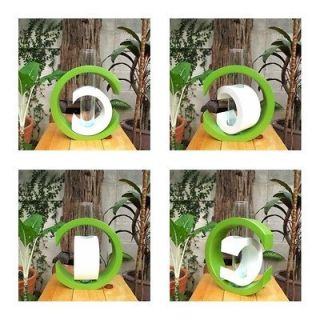 Modern Art Mango Wood Vase Wedding Vase Home Decor Garden Decor~Green
