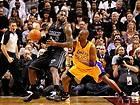 D6963 Lebron James vs Kobe Bryant NBA Basketball Sport 32x24 Print