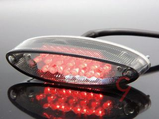 DIRT PIT BIKE UTV BUGGY ATV RUNNING LED TAIL BRAKE STOP LIGHT SMOKE