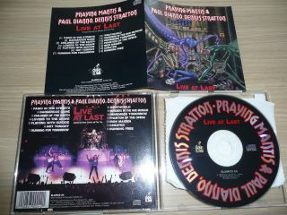 CD Praying Mantis   Live At Last RARE METAL NWOBHM GRAND SLAMM 1990