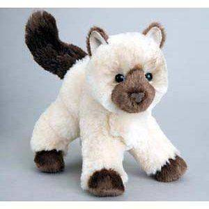 Hilda the Himalayan Cat Kitten Plush Stuffed Animal Child Kid Toys