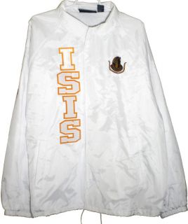 Daughters of Isis 4 Letter Ladies Classic Crossing Line Coachs Jacket