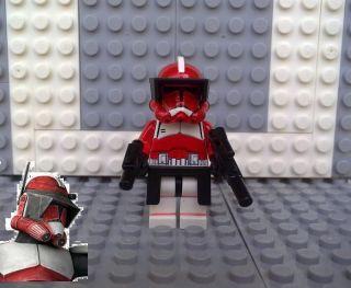 lego star wars commander fox in LEGO