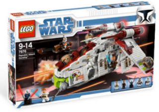 Lego Star Wars #7676 Republic Attack Gunship New Sealed