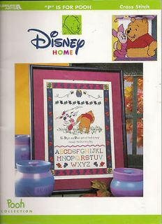 is for Pooh Cross Stitch Book Leisure Arts No 3089 Piglet Tigger