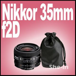 Sheep Skin Lens Bag Case for Nikon AF Nikkor 35mm f/2D
