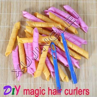 12.5 Hair Curlers Curlformers Spiral Ringlets Perm Leverage rollers