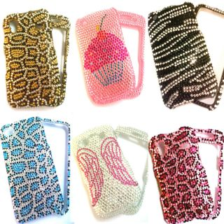 Bling Diamante Diamond Crystal Phone Case Cover Diamonte Gem Fancy