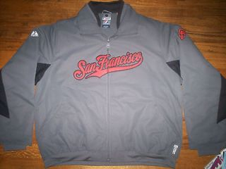 SAN FRANCISCO GIANTS WOMENS NEW MLB AUTHENTIC MAJESTIC PREMIER JACKET