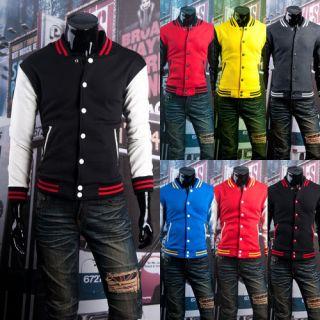 varsity jacket black and white in Coats & Jackets