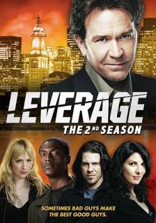 Leverage The 2nd Season (DVD, 2010, 4 Disc Set)