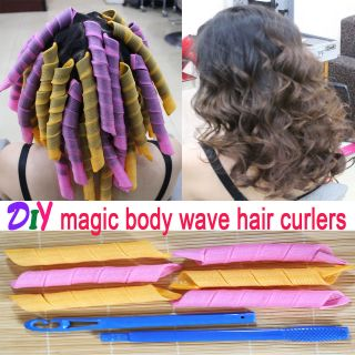 Curlers Curlformers Spiral Ringlets Perm Leverage rollers mixed color