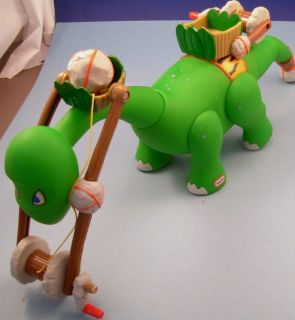 Little Tikes Green Roaring Dinosaur Powered Crane Slate Rock Quarry