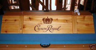 New Crown Royal Billiards Poker Pool Table Light