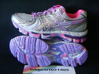 Asics Gel Kayano 18 Noosa Womens Running Shoes US 7 EUR 38 Titanium
