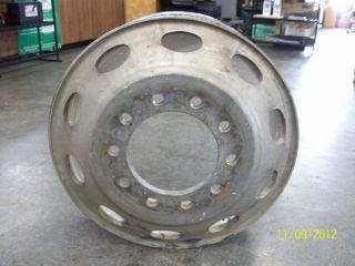 Aluminum Semi Truck Wheel Peterbilt Pete 379 359 Alcoa Hub Pilot 389