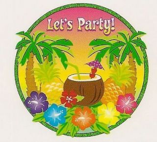 Lets Party Edible Image ~ Edible Image Icing Cake Topper ~ LOOK