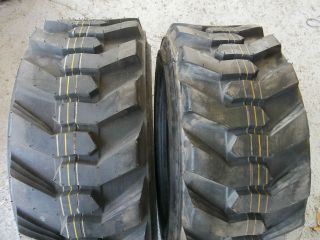 27/10.50x15,27/10.50 15 BOBCAT 8 Ply Loader Skid Steer Rim Guard Tires