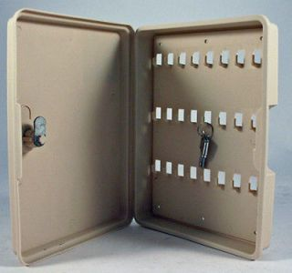 NEW 24 KEY locking storage SAFE BOX CAR AUTO WALL MOUNT