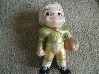 Vintage Atlantic Mold Ceramic Football Player
