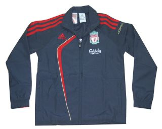 children adidas LIVERPOOL football club tracksuit jacket age 7 8 9 10