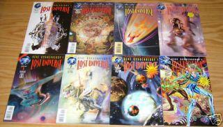 Gene Roddenberrys Lost Universe #1 7 VF/NM complete series +variant