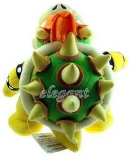 Super Mario Brothers Bros Bowser Party 10 Stuffed Toy Plush Doll