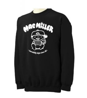 MAC MILLER Crewneck Sweatshirt most dope hip hop rap most dope Crew