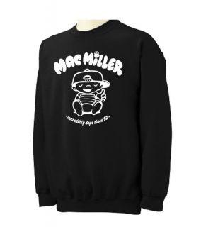 MAC MILLER Crewneck Sweatshirt most dope hip hop rap most dope Crew