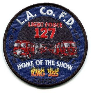 CALIFORNIA   LOS ANGELES COUNTY FIRE   STATION 127   EMERGENCY SQUAD