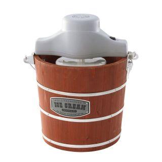 West Bend Ice Cream Maker   4 Quart   Wooden Bucket   BRAND NEW IN BOX