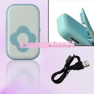 ... Rechargeable USB Micro SD TF Card Mini Clip Music Media Player ...