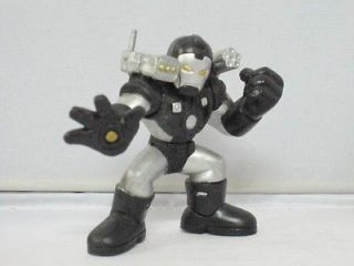 SF6 MARVEL IRON MAN SUPER HERO SQUAD BLACK WAR MACHINE ACTION FIGURE