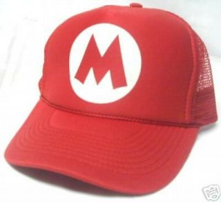 Super Mario Bros. MARIO Hat Trucker Hat Cap Halloween