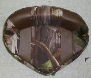 ACTION PRO BUTT SEAT, BOAT SEAT, BROWN/NEXT CAMO 150 456
