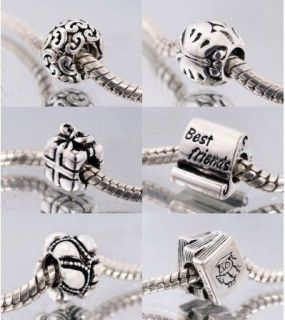 , Giftbox, Best Friends, Journey, Textbook CHARM 925 SILVER BEAD
