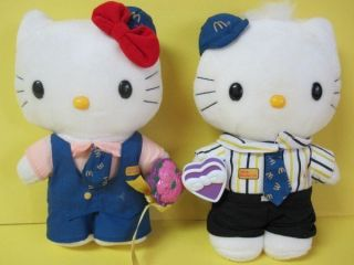 Hello Kitty Dear Daniel Sanrio McDonalds Millenium Wedding Plush