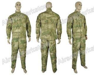Tactical Military Special Force Combat Uniform Shirt & Pants A TACS FG