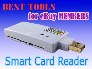 EZ Mini Smart Card Reader   USB 2.0 sim WEB ATM usa