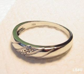 Mens Diamond Wedding Bands in Engagement & Wedding