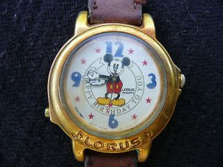lorus quartz mickey mouse watch in Jewelry & Watches