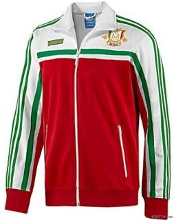 JACKET TRACK ADIDAS VIVA MEXICO SOCCER MENS L NEW 021141 WORKOUT GYM