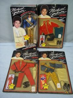 Twice Autographed 1984 Michael Jackson Doll with Outfits In Original
