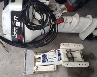 Outboard Motor 15hp Electric Start / Pull Start / Shifter Cables
