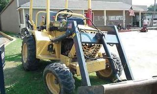 T5C Backhoe 2008, Freshly Rebuilt Engine, 1/4 YD Loader, 16 Digger