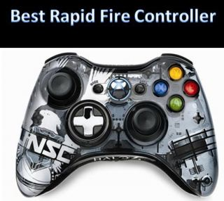 Gold Xbox 360 Rapid Fire 17 Mode Modded Controller for COD Black Ops 2