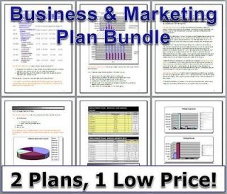 Cosmetics marketing plan template