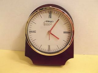 seiko quartz clock in Collectibles